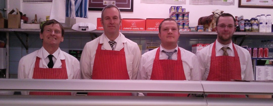 Haffner's Butchers staff